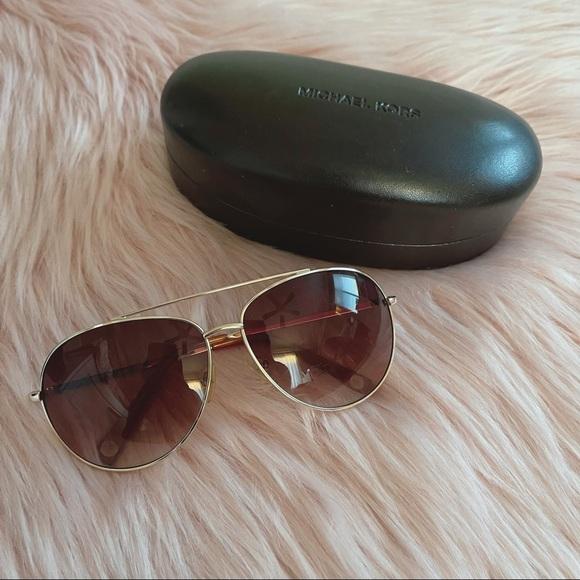 Michael Kors Aviators Sunglasses